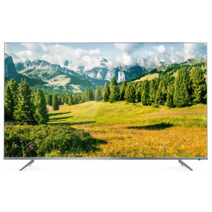 Телевизор TCL L50P6US 4К Сверхтонкий  Серебристый фото