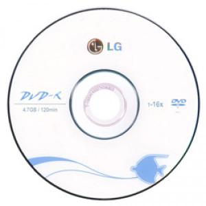 Диск DVD-R LG 4.7Gb 16x фото