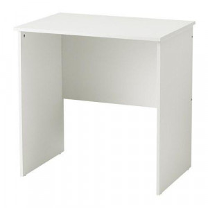 Стол для компьютера, белый МАРРЕН фото